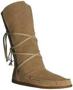 Sanuk 1013813 SAN Sangria Slouch Sand Brown Women's Boots US