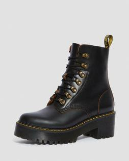 {22601001} Dr. Martens LEONA WOMEN'S VINTAGE SMOOTH LEATHER