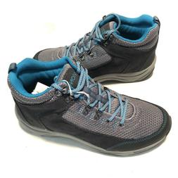 Vionic 3015 Cypress Hiking Tail Boots Shoes Gray Teal Athlet