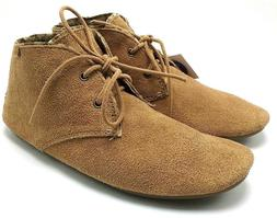 Sanuk Ivana Chukka Women's Light Brown Suede Leather Lace-Up