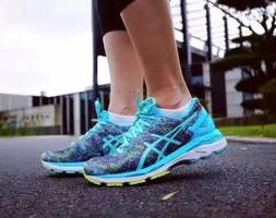 ASICS GEL- KAYANO 23 WOMEN'S AUTHENTIC RUNNING SHOES SHARK/A