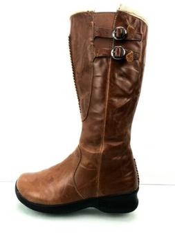 Keen Bern Baby Bern Women's Tall Brown Leather Shearling Boo
