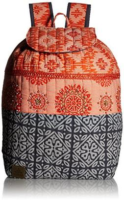 prAna Women's Bhakti Backpack Summer Peach One Size Mat Carr