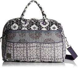 prAna Women's Bhakti Weekender Bag, Silver, One Size