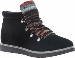 Skechers BOBS from Womens Alpine Smores Ankle Boot Shoes - C