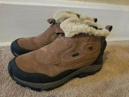 MERRELL boots womens size 9.5 insulated waterproof zipper si