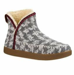 Sanuk Casual Boots Womens Nice Bootah Ankle Gray Arrowooly 1