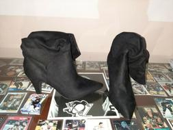 Charlotte Ruse Black Boots Booties Style Women's Boots Size