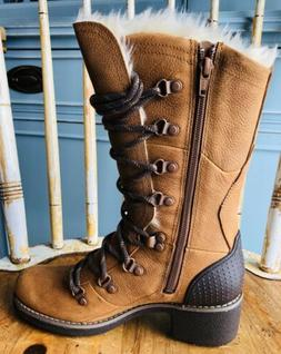 Merrell Chateau Tall Lace Polar Waterproof Snow Boots Women