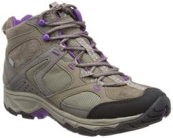 MERRELL Daria Mid Waterproof Ladies Boot, Brown, US8