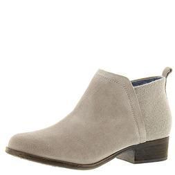 Toms Womens Deia Bootie  US, Desert Taupe Suede/Wool)