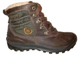 TIMBERLAND Earthkeepers Brown Hiking Waterproof Leather Boot