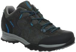 Lowa Women's Focus GTX LO Approach Shoe,Anthracite/Turquoise