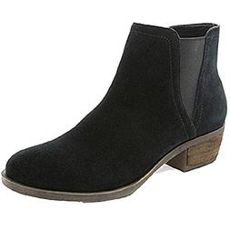 Kensie Women's Garry Bootie Short Ankle Boots Suede Black Us