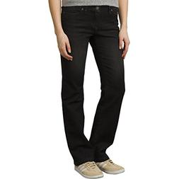 prAna Geneva Jean Regular Inseam Pants, Black, Size 12