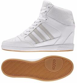 ADIDAS HIGH TOP SHOES WHITE COMFORT WOMENS WEDGE BOOTS WALKI 16b12ad8d