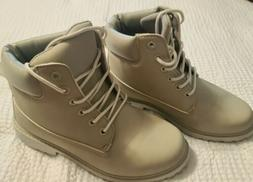 Hiking Boots Shoes Womens US Size 7 Gray Unbranded