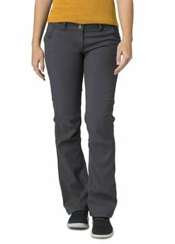 prAna Women's Regular Inseam Halle Pant, 6, Cargo Green