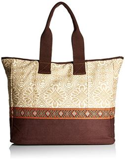 prAna Women's Jazmina Tote Bag, Stone, One Size
