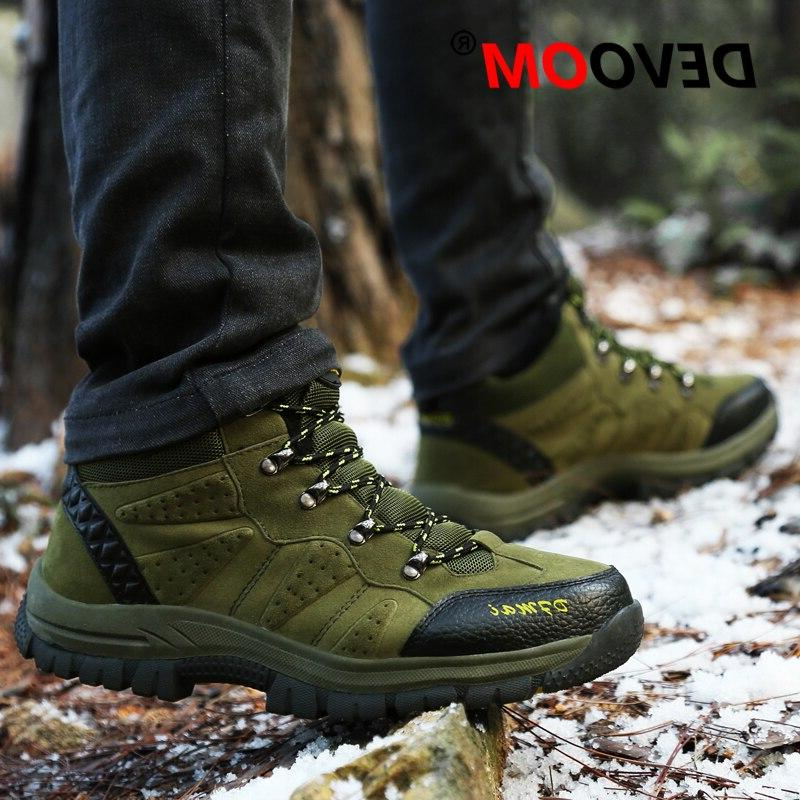 2019 Couples Desert Climbing Shoes <font><b>Women</b></font> Ankle Plus Size Trekking Shoes Footwear