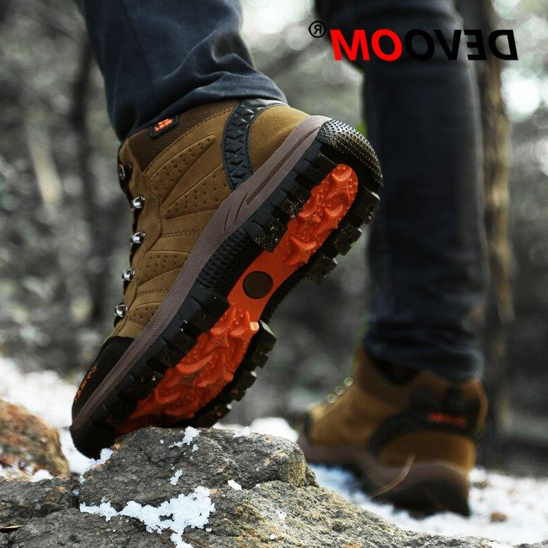 2019 Couples Outdoor Desert Shoes Men <font><b>Women</b></font> Ankle Plus Trekking Footwear