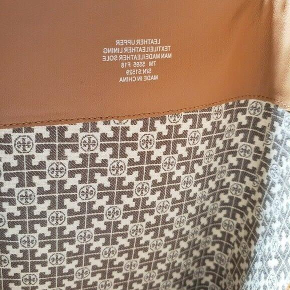 Authentic Tory Burch Woman's Sz 7 Tan Brooke Knee High Leather