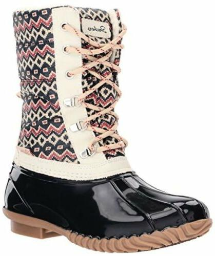 BOBS from Skechers 48898 Womens Hampshire-Printed Quilted Sn