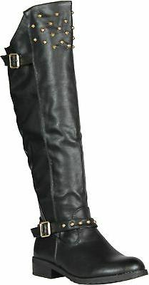 REFRESH ELGA-04 Women's Riding Boots