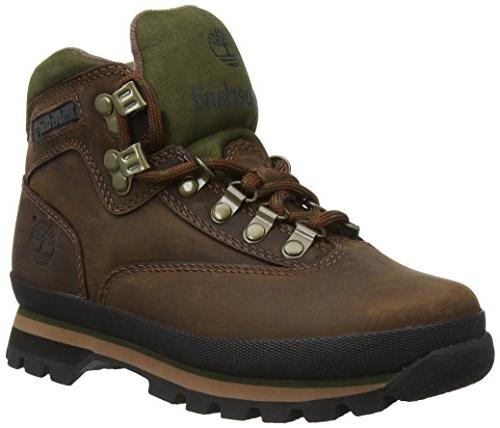 euro hiker leather ankle boot
