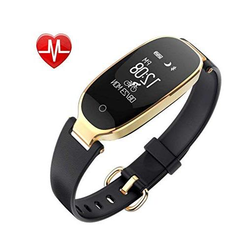 fitness tracker smartwatch bluetooth with heart rate