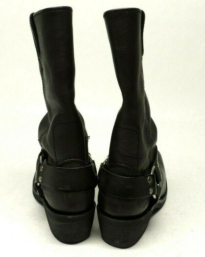 HARLEY LEATHER HARNESS BOOTS #85354