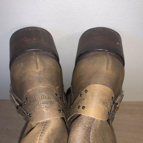 Harley Leather Boots Womens
