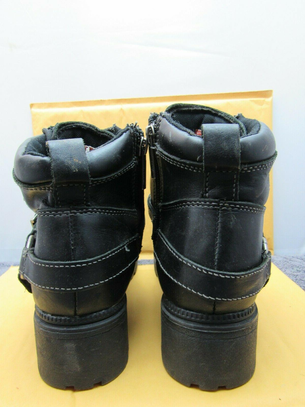 Harley-Davidson Women's Motorcycle Boots D84424 Size