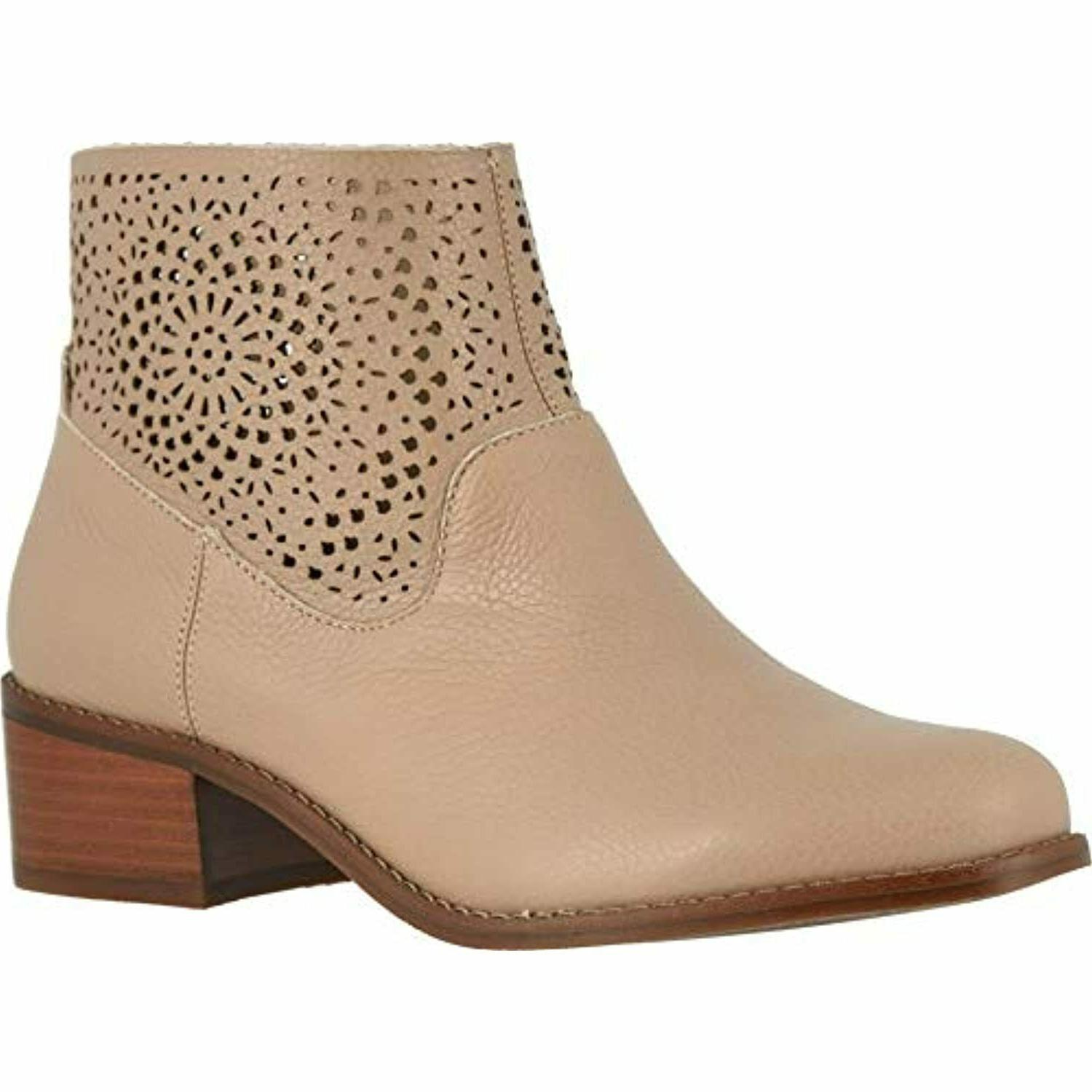 hope luciana women s perforated detailed ankle
