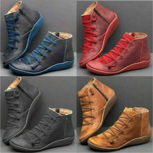 Zipper Ankle Up Casual