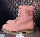 "Coolway Leather ""Elva"" Combat Boots - Women's Size 7  ""PINK"""