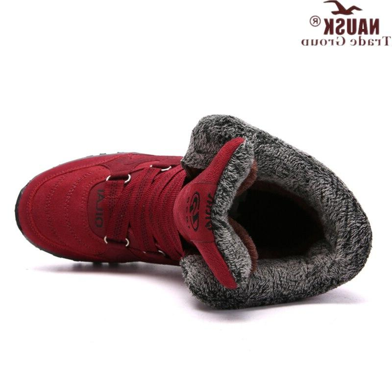NAUSK New <font><b>Boots</b></font> High Quality Winter <font><b>Boots</b></font> Shoes Keep Warm Snow <font><b>Boots</b></font> Botas mujer