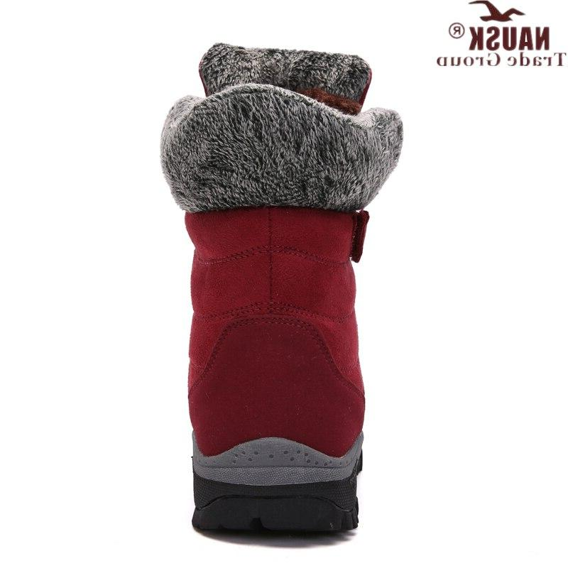 NAUSK New <font><b>Boots</b></font> High Winter Shoes Keep Warm Snow <font><b>Boots</b></font>