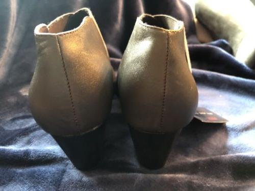 "NEW POINT"" BROWN BOOTIES W/ BOOTS"