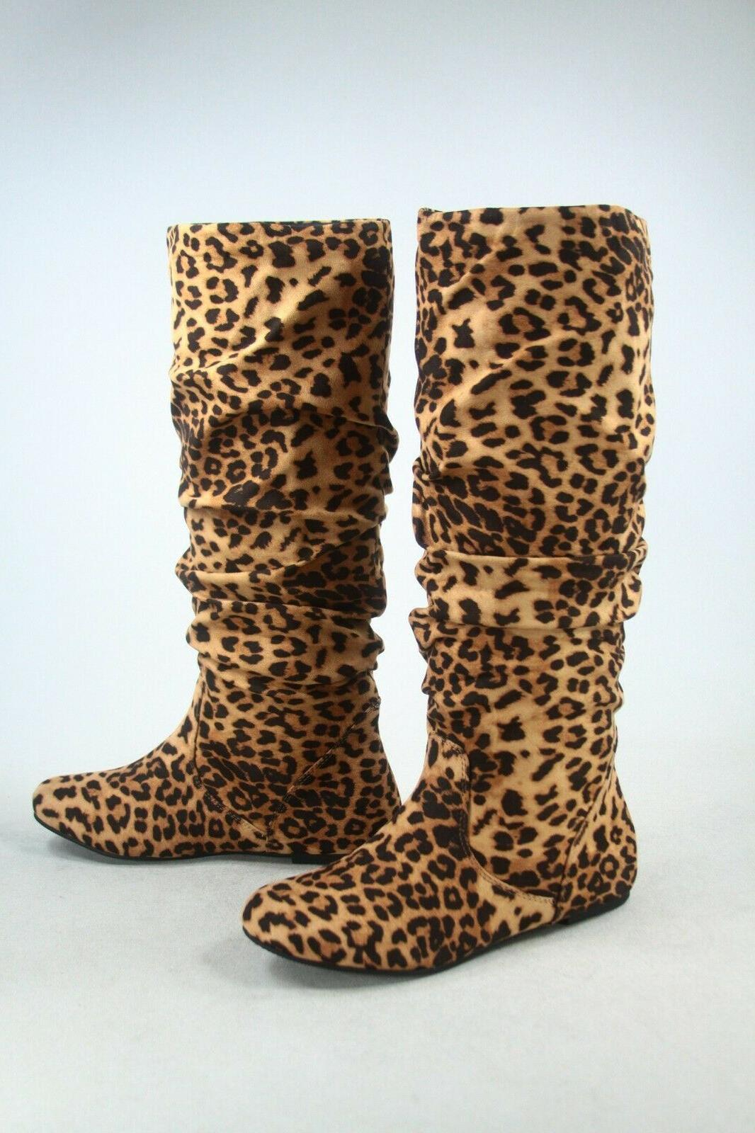 NEW Women's Leather Knee High Size 6 -