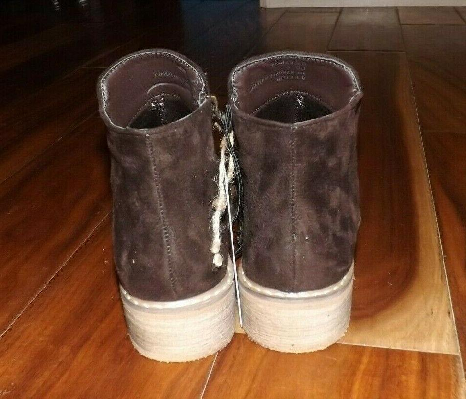 NWT Womens Suede Bootie Size