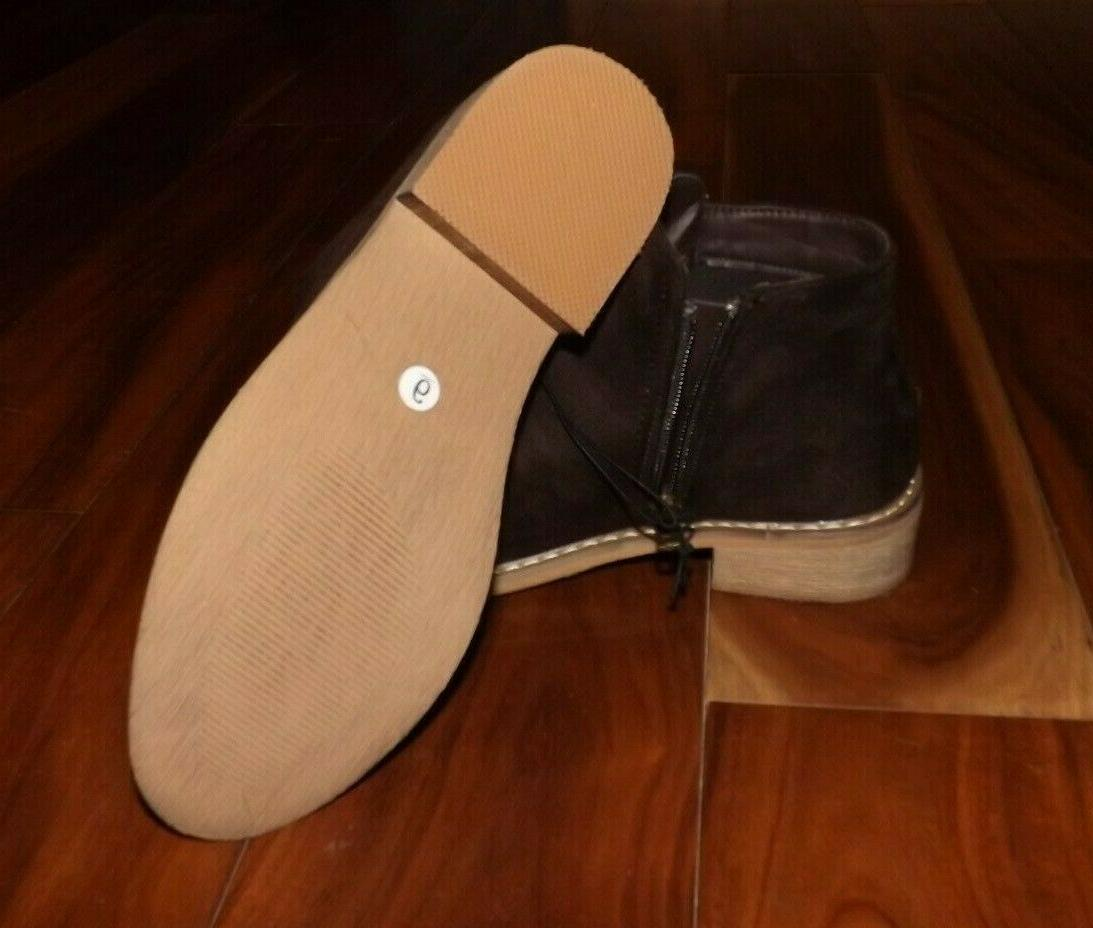 NWT Womens Suede Size 8