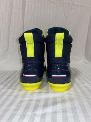 Tommy 🦆 Rain Duck Navy Blue size 9 NEW
