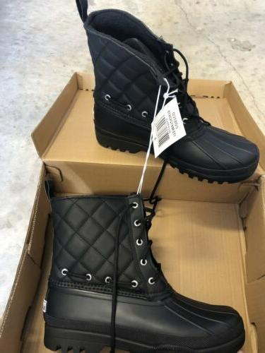 sperry duck boots size 9