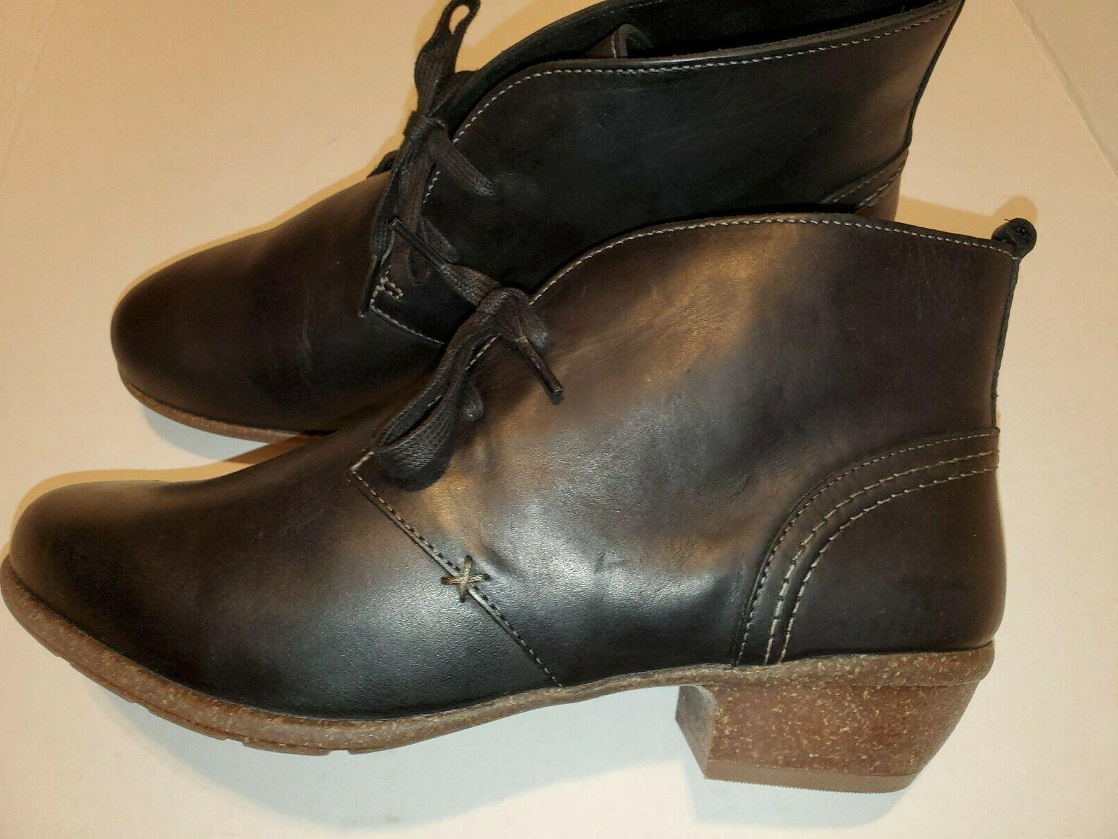 Clarks Boots Ankle BLACK WOMENS 11