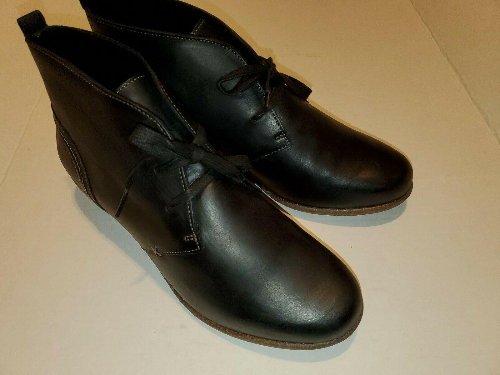 """Clarks """"Wilrose Ankle Bootie Leather WOMENS SZ"""