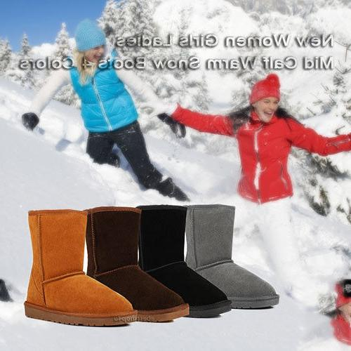 Winter Boots Warm Snow Boots 5-10 US