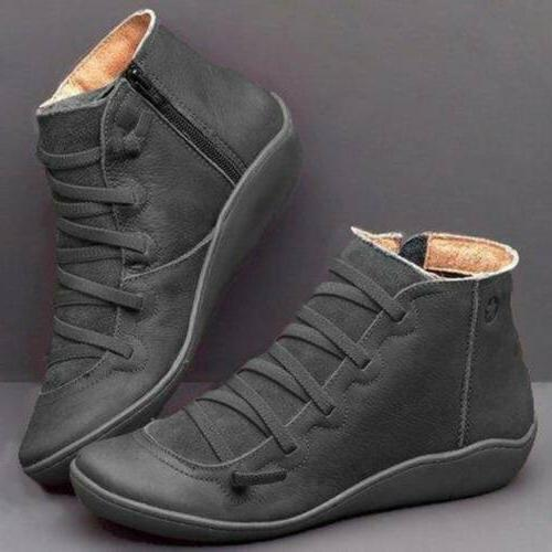 Women Boots SUPPORT Suede Winter Shoes Heels Loafers