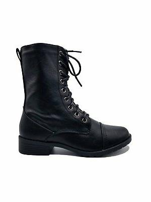 Women Combat Lace Up Mid