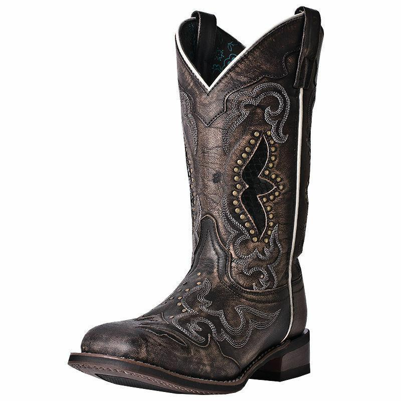"Women's Laredo 11"" Spellbound Square Toe Cowboy Boots w/Snak"